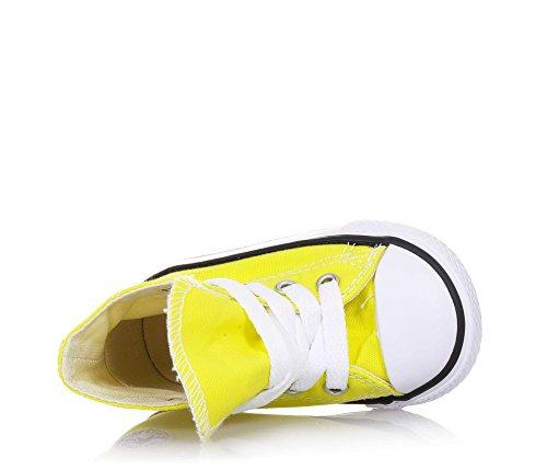 CONVERSE niño / o altas zapatillas de deporte 355738C CTAS HI AMARILLO Amarillo