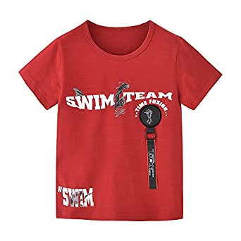 Nexgen Junior Boys T-shirt, Dark red