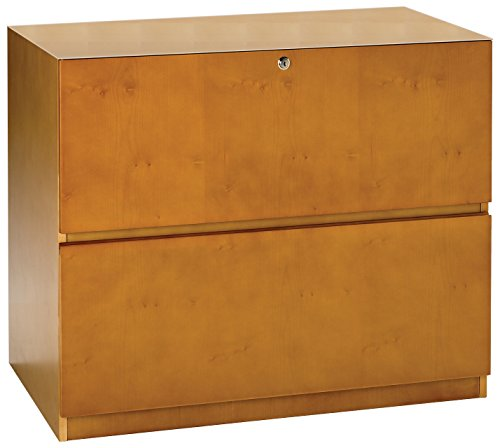 Mayline LFU23620M Luminary File Cabinet, Maple Veneer