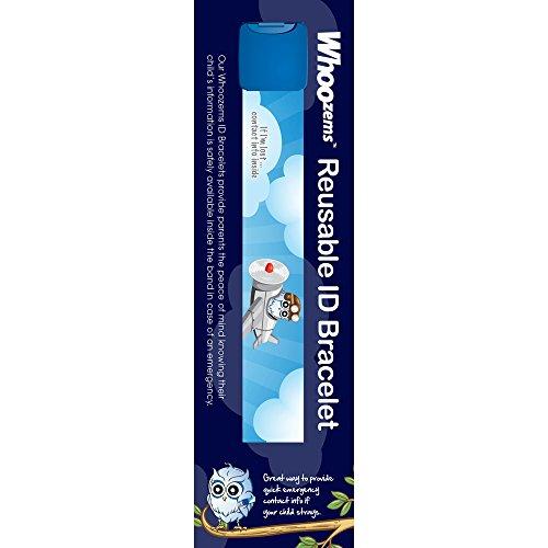 Identification Id Bracelet - Boys Child ID Safety Bracelet (Blue)