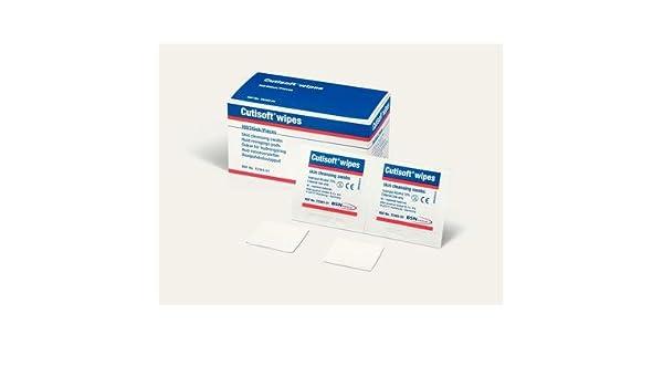 BSN quirúrgico unidades - toallitas, 50 x 2 sobres, Cutisoft Wipes, 72383 - 01: Amazon.es: Deportes y aire libre