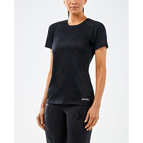 S Camiseta Xvent Negro T s 2xu mujer Top negro q5ZXHwxxP