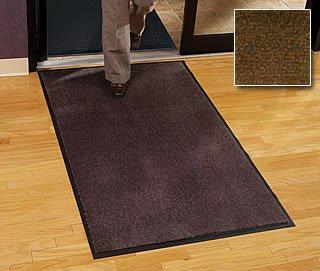 Walk Off Floor Mat - Carpet Mat Classic - 4' x 10' - Walnut - Economy Grade Indoor Entry Mat by Carpet Mat Classic