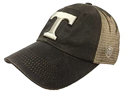 Tennessee Volunteers TOW Brown Realtree Camo Mesh Adjustable Snapback Hat Cap from Top of the World