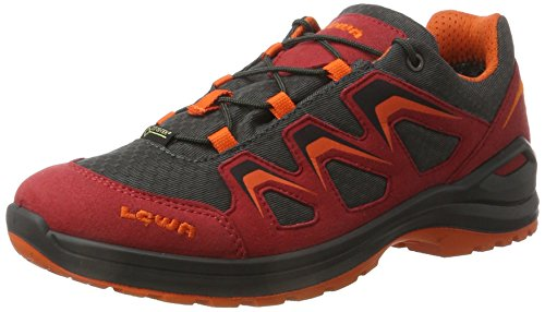 Lowa Innox Evo Gtx Lo Junior, Zapatos de Senderismo Unisex Niños Rojo (Rot/orange)