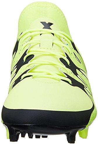 adidas X 15.2 FG/AG - Botas para hombre Lima / Negro