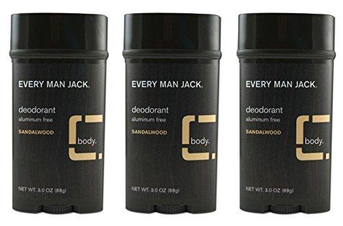 Every Man Jack Deodorant Sandalwood product image