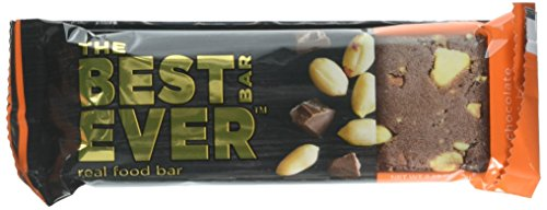 Best Bar Ever Protein Food Bar, Chocolate Peanut Butter, 12 Count by Best Bar Ever