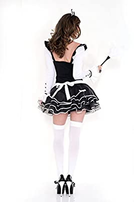 Music Legs Women's Pretty and Proper Frenchmaid