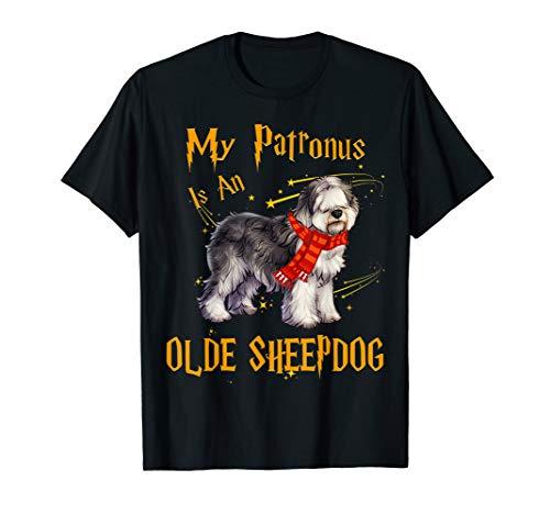 My Patronus Is An Olde English Sheepdog Dog T Shirt