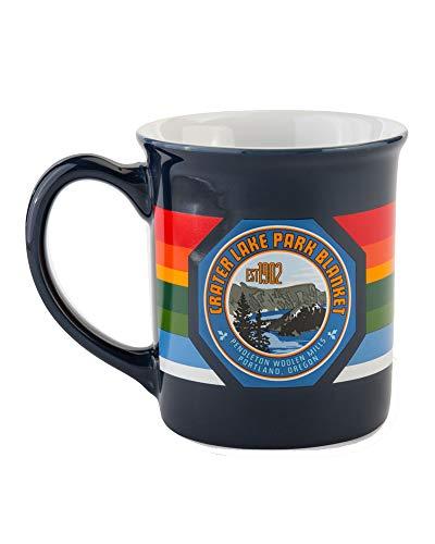 Pendleton National Park 18oz Ceramic Coffee Mug, Crater Lake One Size