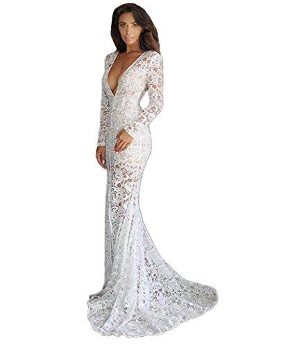junior dress in white - 4