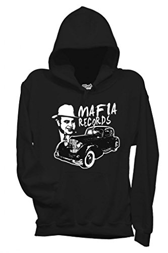 Sweatshirt Al Capone Mafia Records - Berühmt By Mush Dress Your Style
