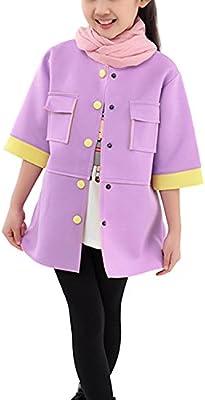 Primavera SODIAL® niños chaquetas ropa Color caramelo traje de ...