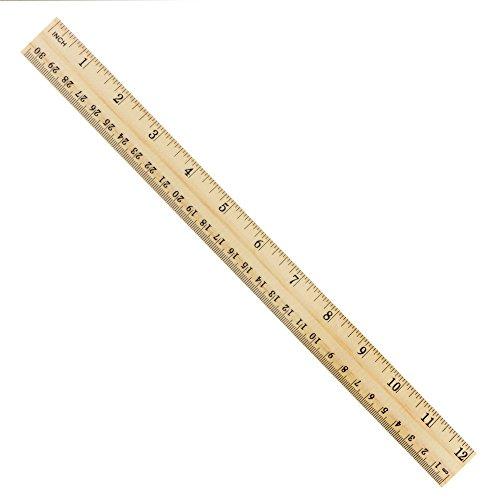 subang 15 packs student ruler wood ruler wooden school rulers office ruler measuring ruler 2. Black Bedroom Furniture Sets. Home Design Ideas