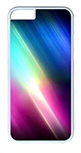 ACESR Abstract Spectrum iPhone 5 5s Hard Shell Case Polycarbonate Plastics Luxury Case for Apple iPhone 5 5s White