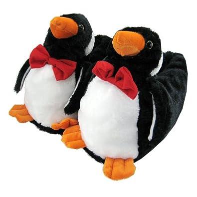 Posh Pinguin Hausschuhe Für Kinder, Kuriose Tier Hausschuhe