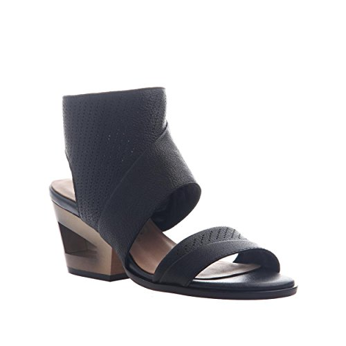 Heeled Black Sandals nicole Farra Women's OqpH8H