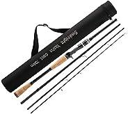 SeaKnight Yasha 4 Pieces Fishing Rods Casting&Spinning Carbon Fiber Travel Rod Light Sea Fishing Pole Salt