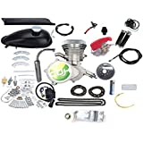 CDHpower 2 Stroke Gas Bicycle Engine kit Square Type/Silver Head-Super PK80-Gas Motorized Bicycle 66cc/80cc