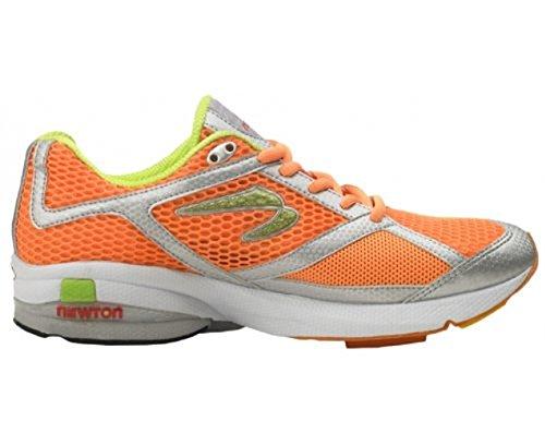 Newton Womens Gravitas=Gravity Neutral Performance Trainer Running Shoes W000210 Orange+Lime (12 M)