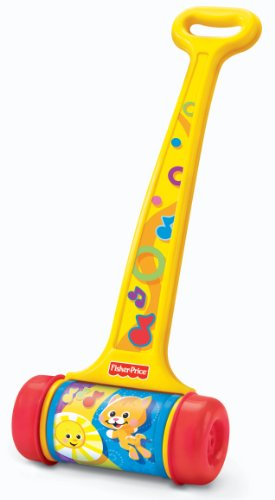 Fisher-Price Brilliant Basics Melody Push Chime Musical Push Toy