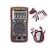 Usmile ANENG AN8008 True RMS Pocket Digital Multimeter Bench meter Features 9999 Counts Backlight AC DC Current Voltage Resistance Frequency Capacitance Square Wave Output Auto/Manual Ranges
