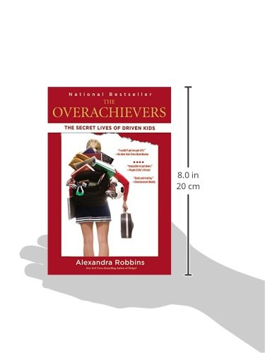 overachievers by alexandra robbins The overachievers by alexandra robbins created by: mark saldua, alyssa noche, chloe delos santos the speaker is the author of the novel, alexandra robbins.