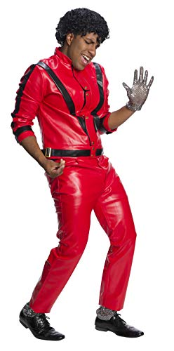 Charades Michael Jackson Men's Costume Set, As Shown, Medium