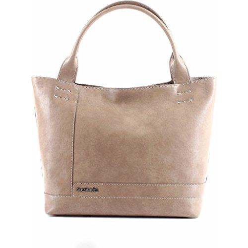 Nero Giardini accessori Shopping bag tortora 3418 borsa donna P743418D