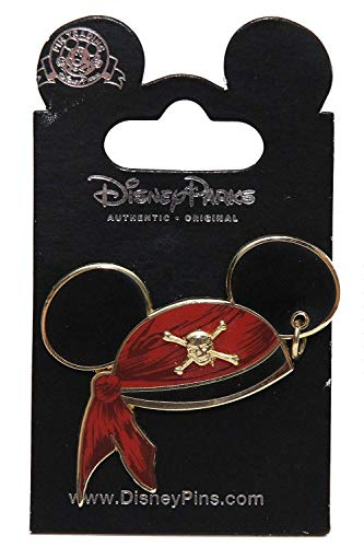 - Disney Pins - Pirates of the Caribbean - Mickey Mouse Pirate Ear Hat - Pin 47059