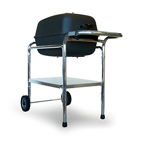 PK Grills PK Original Outdoor Charcoal Portable Grill Smoker Combination