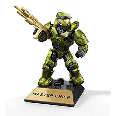 Mega Construx Halo Heroes Pro Builders Series 10 Master Chief Mini Figure GFT35: Toys & Games