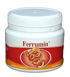 SONUSAN – Ferrumin Complemento alimenticio de Hierro con vitamina C, B2 y B12. Indicado para mujeres, veganos y deportistas de alto rendimiento – 100 cápsulas