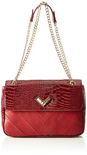 Valentino Women's MOMA Baguette Handbag red Rot (ROSSO)
