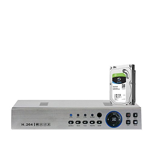 Cheap GW Security 4 Channels 960H / AHD 720P Hybrid DVR CCTV with Mobile Motion Detection 4CH H.264 Digital Video Recorder Camera System For Analog and AHD Security Camera (Pre-installed 3TB HDD)
