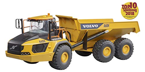 Bruder Volvo A60H Articulated Hauler Vehicles - Toys