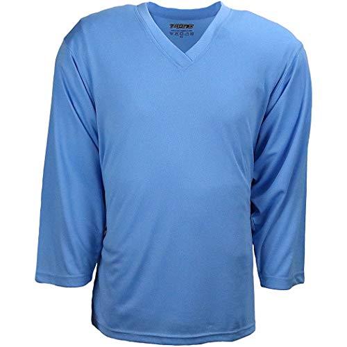 (TronX Hockey Practice Jersey (Sky Blue Adult L))