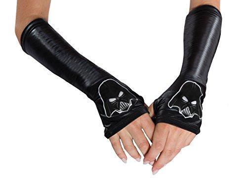 [Rubie's Adult Star Wars Darth Vader Glovelettes] (Darth Vader Gloves Adult)