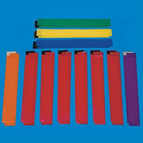 Replacement Flag Football Flags (Set of 12)-Red