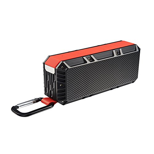 CHINIC Portable Bluetooth Speaker, Bluetooth 4.2 Speaker Wireless Speaker Waterproof IPX6 with HD Sound and Bass Rechargeable Battery 15 Playing Hours