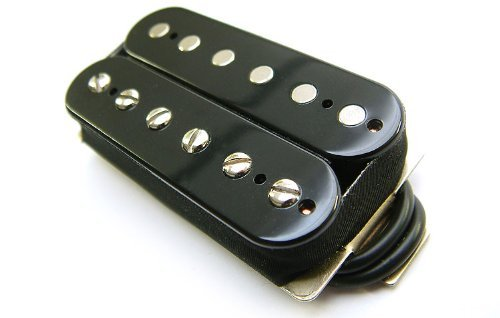 Tonerider Humbucker Pickup: Rocksong Alnico II Humbucking Pickup (Neck, Black)