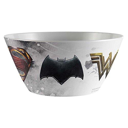 Zak Designs DC Comics Justice League Movie 6 Inch Plastic Soup Bowl 25 -