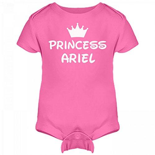 Ariel Outfit (Princess Baby Ariel: Infant Rabbit Skins Lap Shoulder Creeper)