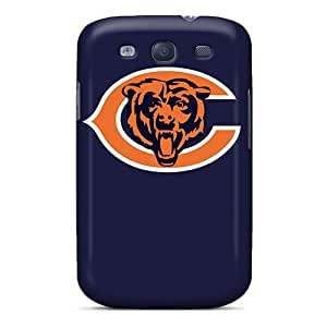 AlissaDubois Samsung Galaxy S3 Shock-Absorbing Hard Phone Covers Custom Colorful Chicago Bears Skin [GkC2941llRX]
