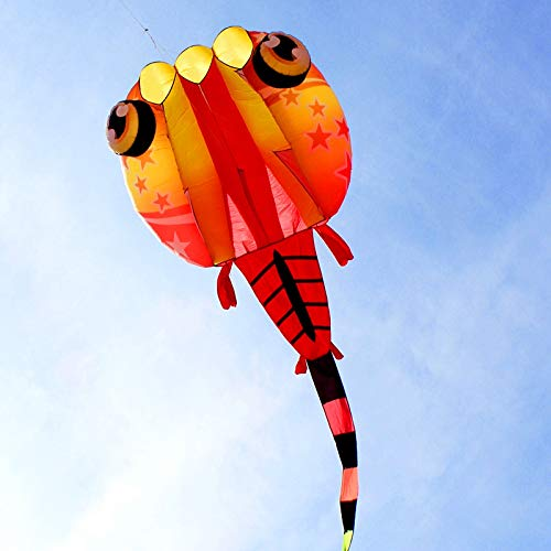 Trilobites Kite Flying Toys Jellyfish Wangchaoli Ripstop Outdoor Factory Kites New 3d Soft Nylon Large wvmN80n