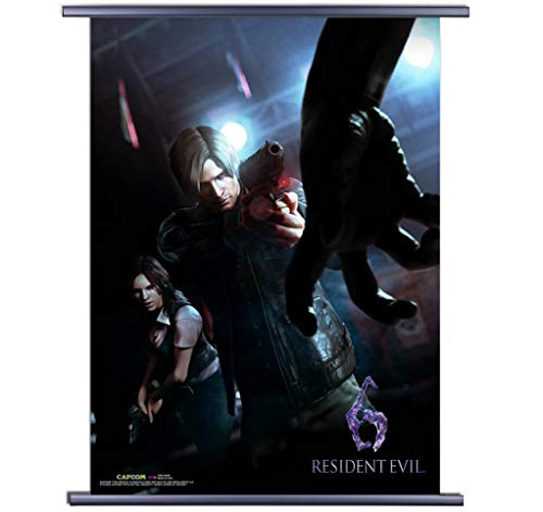 CWS-Media Group Resident Evil 6 : Cover Art Wall Scroll Poster (32 x 45 Inches) Officially Licensed