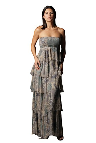 KELLY NISHIMOTO Silk Weeping Willow Dress in S
