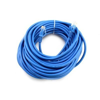 Cat6 75FT Networking RJ45 Ethernet Patch Cable Xbox \ PC \ Modem \ PS4 \ Router - (75 Feet) Blue