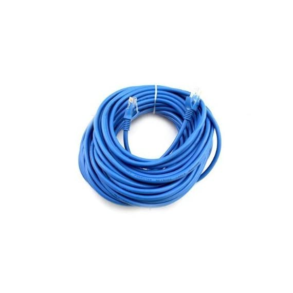 Cables Direct Online Snagless Cat5e Ethernet Network Patch Cable Blue 200 Feet 2 Compliance Standards: EIA/TIA-568B Category 5E Works Best For Your Desktop, Laptop, Router, Modem, Switch, Hub, DSL, xBox, PS2, PS3, And More Connector(s) (Both Sides): 1 x RJ-45 - Male